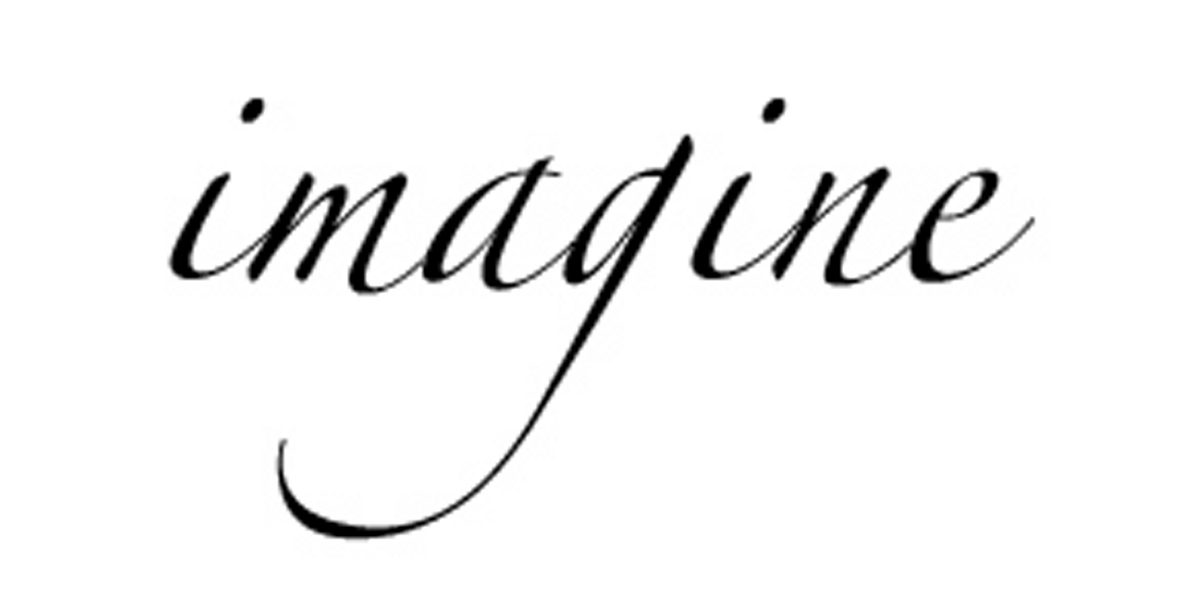 Imagine | What Glenn Writes